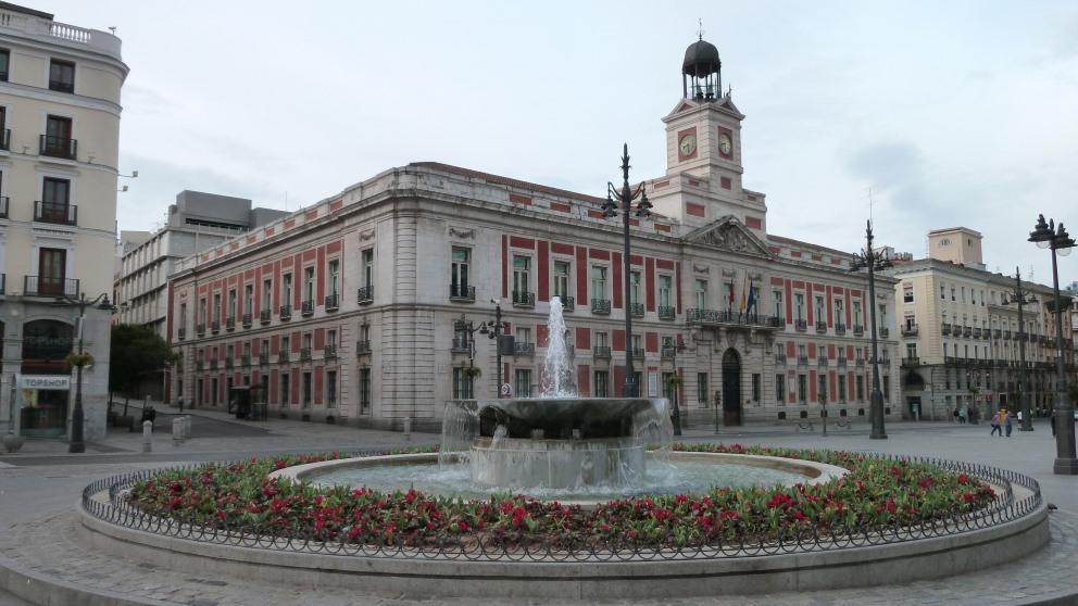 Imagen de la Puerta del Sol de Madrid.