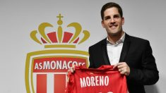 Robert Moreno, en su presentación. (AFP)