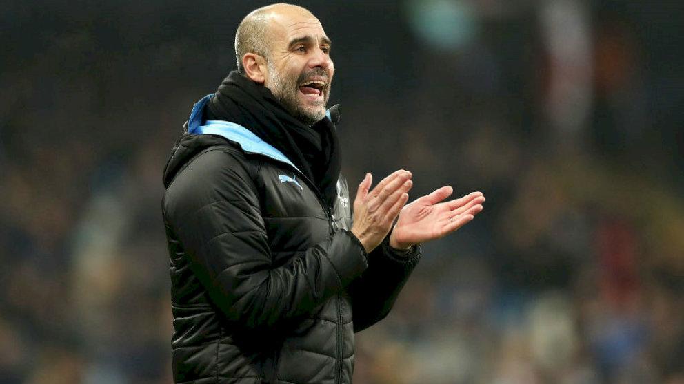 Pep Guardiola, entrenador del Manchester City. (Manchester City)