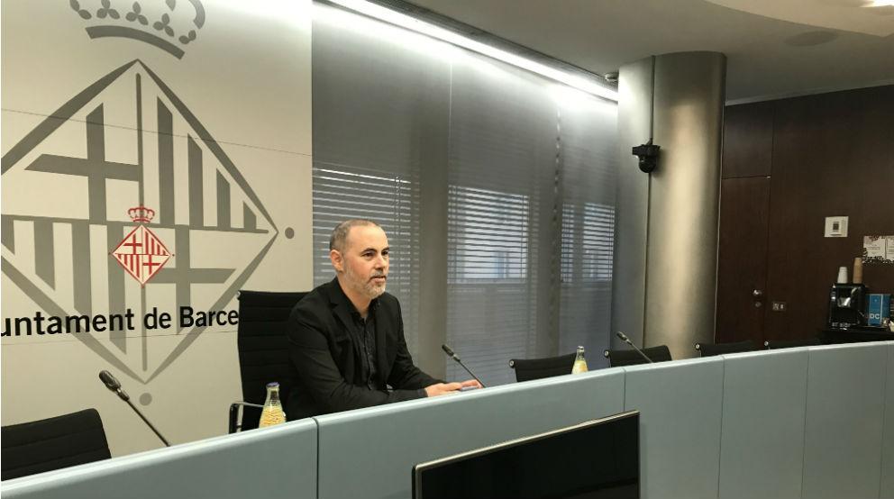 El concejal de Emergencia Climática y Transición Ecológica de Barcelona, Eloi Badia