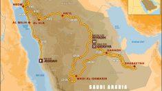 Así será el recorrido del Rally Dakar 2020.