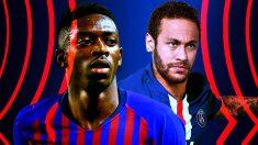 Dembelé puede salir del Barça para hacer sitio a Neymar.