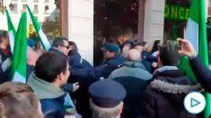 Incidentes durante la celebración del Día de la Toma de Granada.