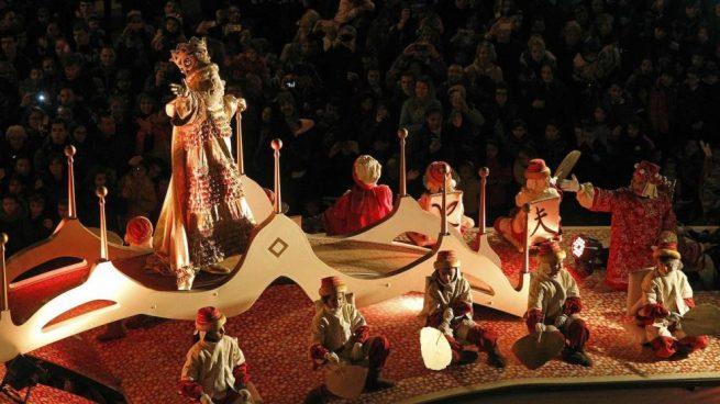 Cabalgata de Reyes 2020 en Barcelona
