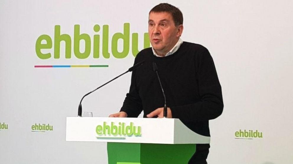 El coordinador general de EH Bildu, Arnaldo Otegi. (Foto: Europa Press)