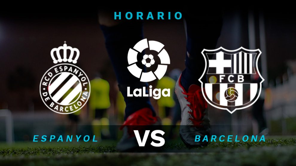 Espanyol – Barcelona: horario y cómo ver por televisión el partido de la Liga Santander.