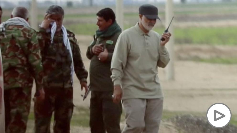 El general Qassem Soleimani (eliminado este viernes por EE.UU.), en una imagen de archivo.