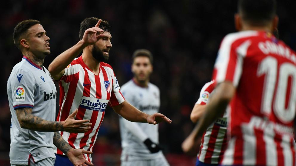 Atlético – Levante, partido de la Liga en directo