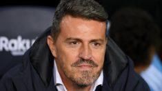 Óscar García, técnico del Celta de Vigo. (AFP)