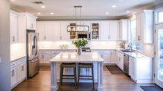 Las cocinas modernas le dan un aspecto único a la decoración del hogar