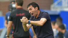 Asier Garitano, técnico del Alavés. (AFP)