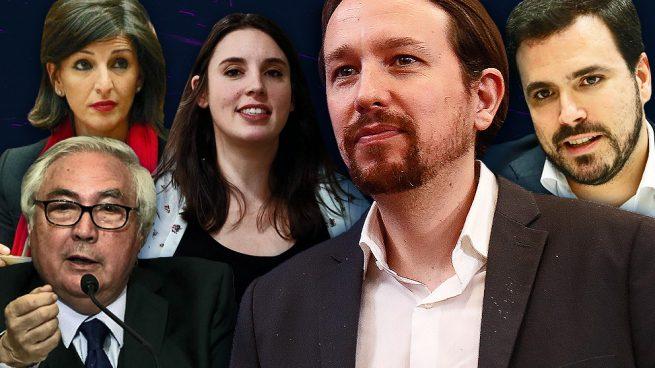 Estos serán los ministros de Podemos: Iglesias, Montero, Garzón, Yolanda Díaz y Manuel Castells