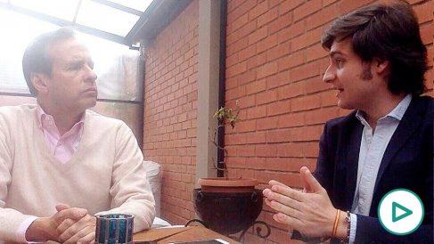 Tuto Quiroga en la entrevista con OKDIARIO.
