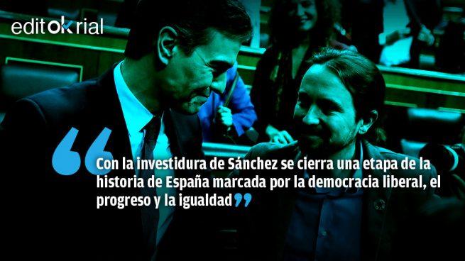 Un Gobierno contra la democracia liberal y la España del 78