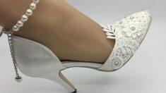 Los zapatos son muy importantes el día de tu boda