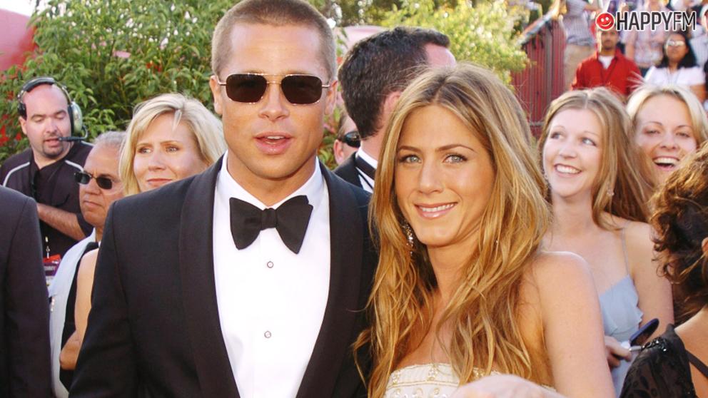 Jennifer Aniston y Brad Pitt, protagonistas de este gesto