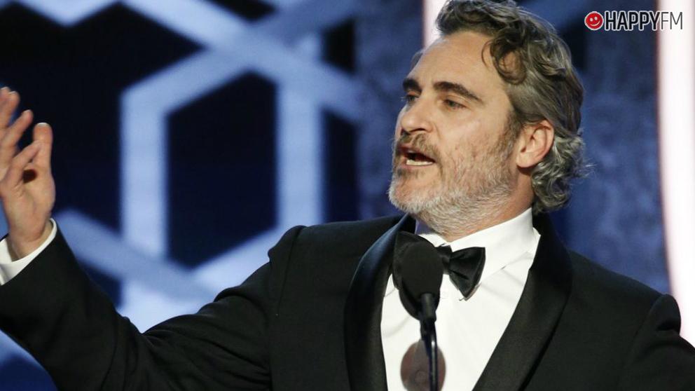 Joaquin Phoenix brilla con su discurso en los Golden Globes