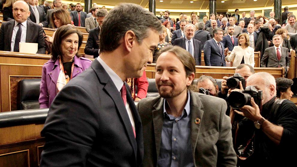 Pedro Sánchez y Pablo Iglesias preocupan por su política económica (Foto: Francisco Toledo)