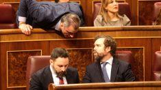Vox abandona el Congreso cuando toma la palabra Bildu. (Foto: Francisco Toledo)