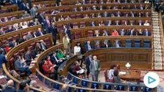 Vox abandona el pleno ante el discurso de Bildu.