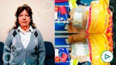 La mujer detenida enviada por Juan Ramón Quintana, financiador de Podemos.