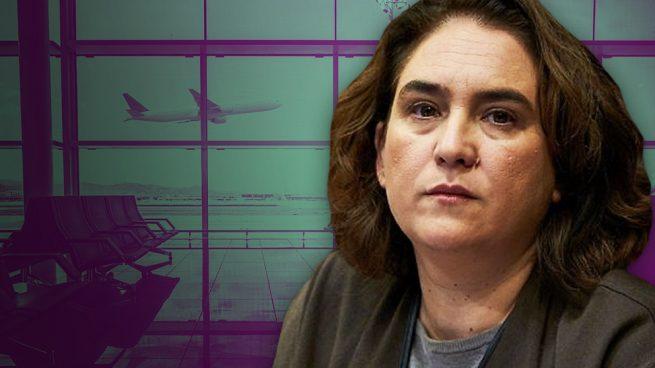 Colau hace falsa propaganda: no puede cerrar el puente aéreo Madrid-Barcelona