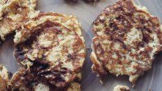Receta de Tortitas de plátano y almendra