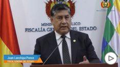 El Fiscal General del Estado de Bolivia.