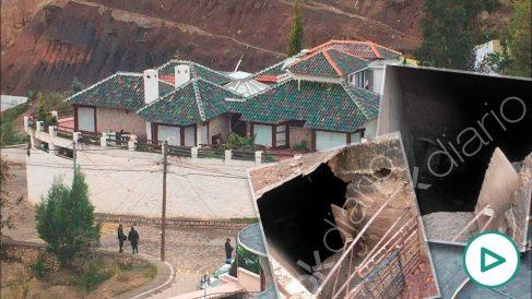 La residencia diplomática de México en La Paz (Bolivia).