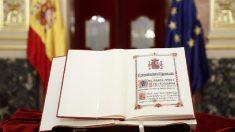Constitución Española. Foto: EFE