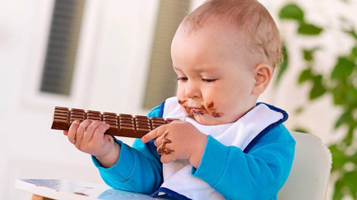 A partir de qué edad puede comer chocolate un niño