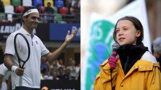 Greta Thunberg se suma a una campaña contra Roger Federer por ser embajador de 'Credit Suisse'.