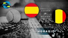 España – Bélgica: Hora y dónde ver en directo el partido de la ATP Cup 2020