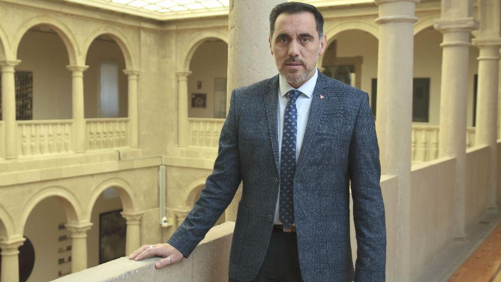 El presidente del Parlamento de La Rioja, Jesús María García. (Foto: Europa Press)