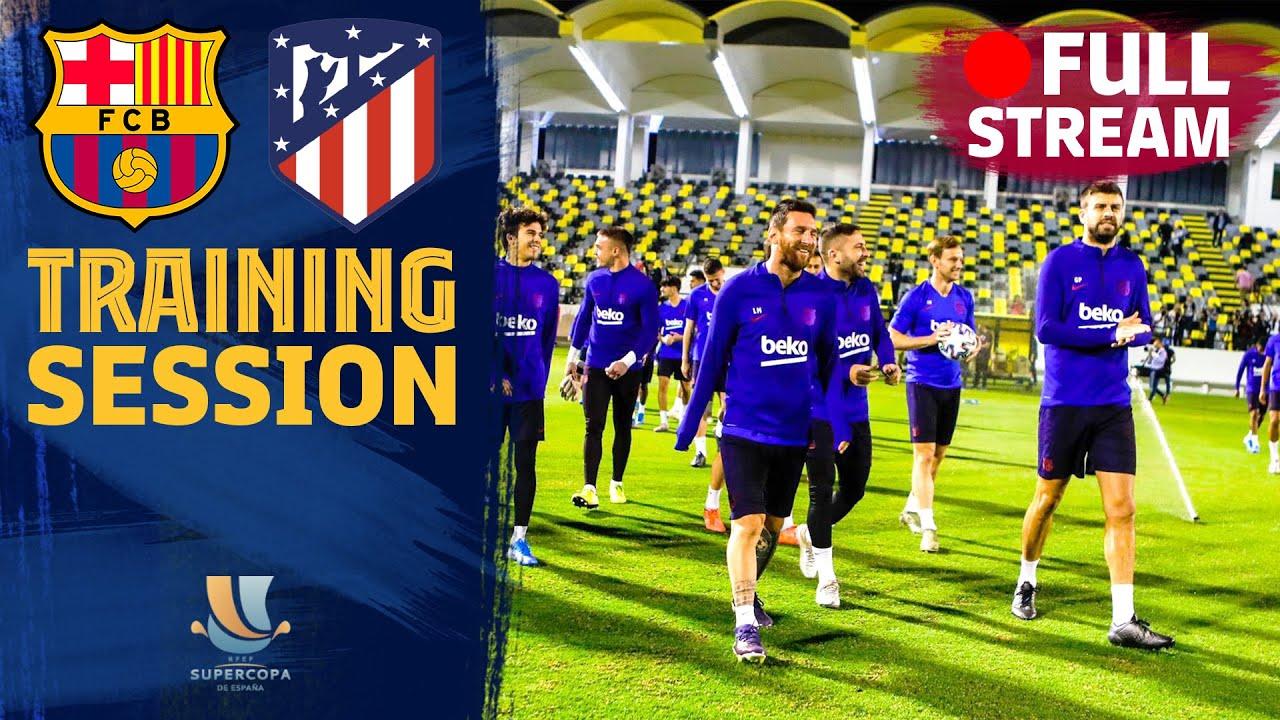 Barcelona – Atlético: Horario y dónde ver el partido de hoy de Supercopa de España en directo