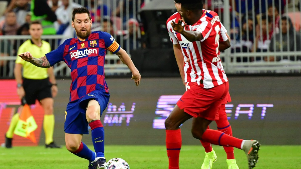Barcelona – Atlético de Madrid.