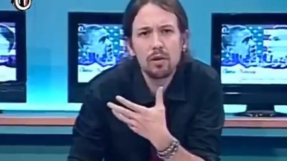 Pablo Iglesias presentado el programa La Tuerka.