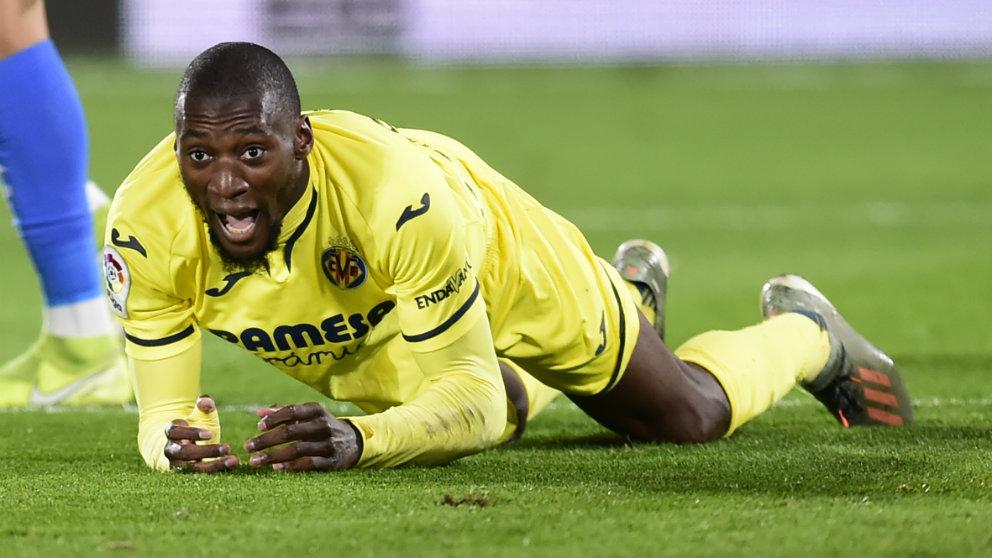 Toko Ekambi con el Villarreal. (AFP)