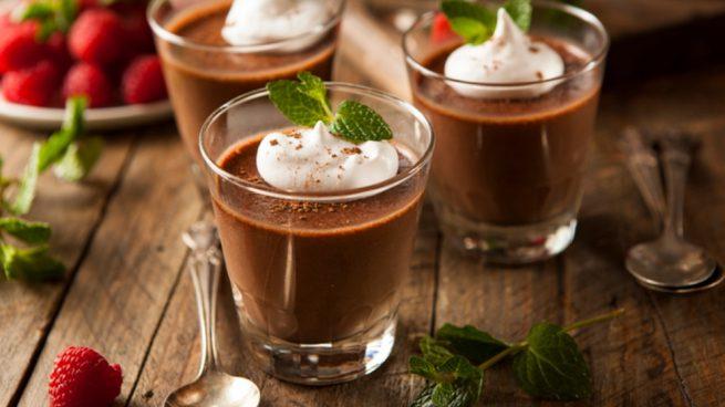 Receta de cremoso de chocolate con aguacate