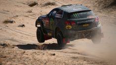 Una imagen de la sexta etapa del Rally Dakar.