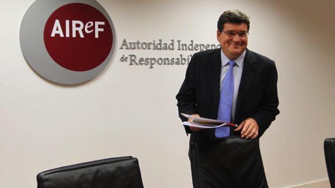 El presidente de AIReF, José Luis Escrivá Belmonte. (Foto. Airef)