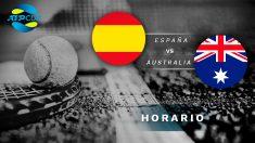 España – Australia: Hora y dónde ver en directo el partido de la ATP Cup 2020.