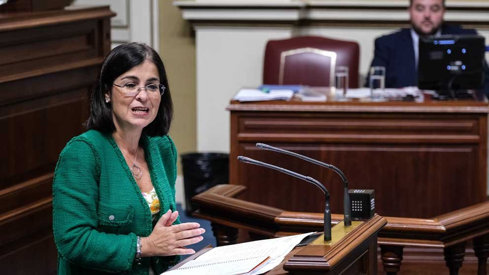 La ministra de Sanidad Carolina Darias