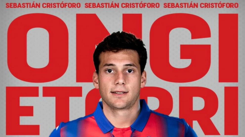 Sebastián Cristóforo, nuevo fichaje del Eibar. (Sociedad Deportiva Eibar)