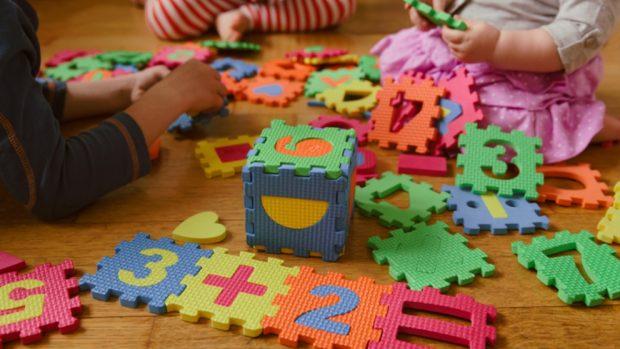 Cómo ordenar los juguetes de los niños