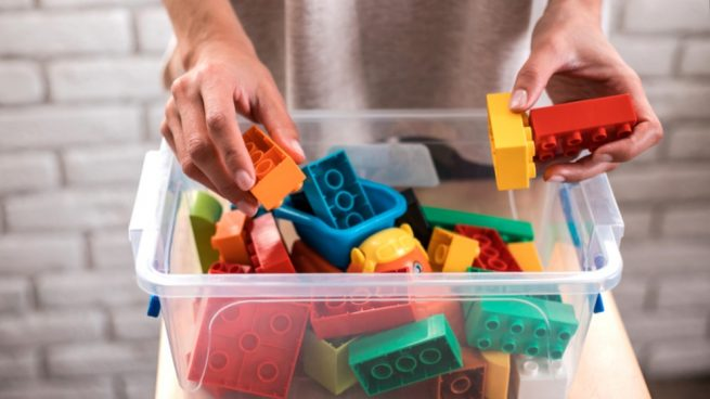 Pasos para ordenar los juguetes de los niños