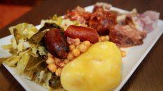 El cocido gallego es tradicional en esas tierras en Carnaval