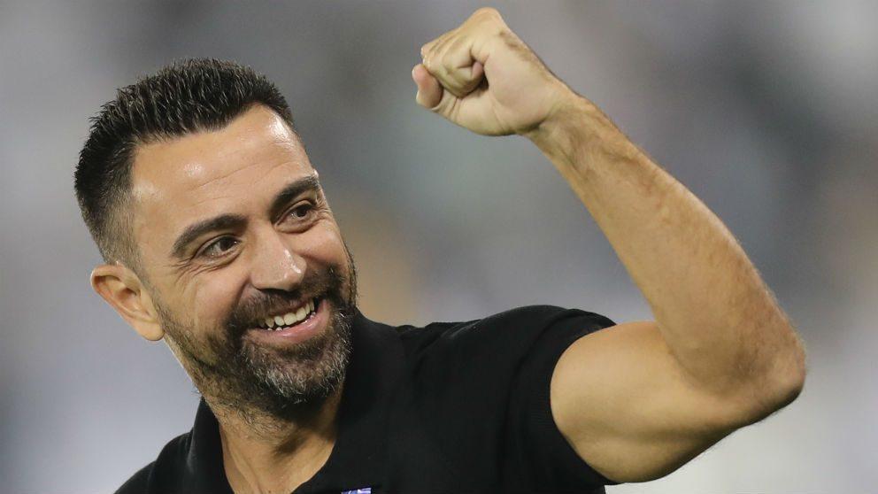 Xavi Hernández. (AFP)