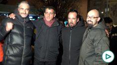 Los CDR Alexis Codina, Eduard Garzón, Jordi Ros y Germinal Tomàs.