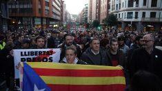 Un momento de la manifestación de Bilbao (Foto: EUROPA PRESS).